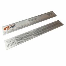 Detalhes do produto Régua em Alumínio - Com Escala