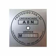 Detalhes do produto Etiquetas para Georreferenciamento