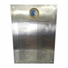 Detalhes do produto Placa de Homenagem